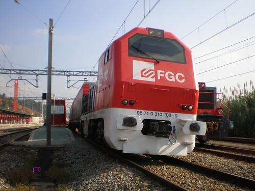 Un tren de FGC