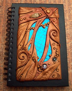 Clay and Glass Journal Cover