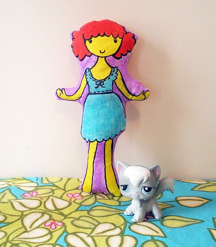 Sew Spoiled Fabric Doll