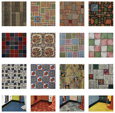 Vintage linoleum vintage linoleum by daily bungalow for Vintage linoleum flooring