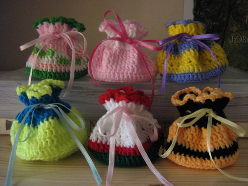 Crocheted Mini Pouches