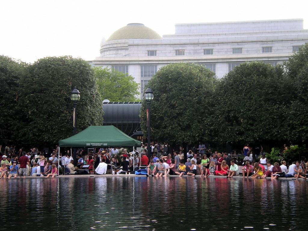 Day 289/365 - Jazz in the Sculpture Garden