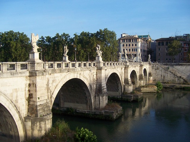 Pons Aelius (Bridge of Hadrian), Rome