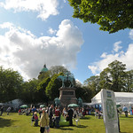 View of the Gardens | Edinburgh International Book Festival in Charlotte Square Gardens