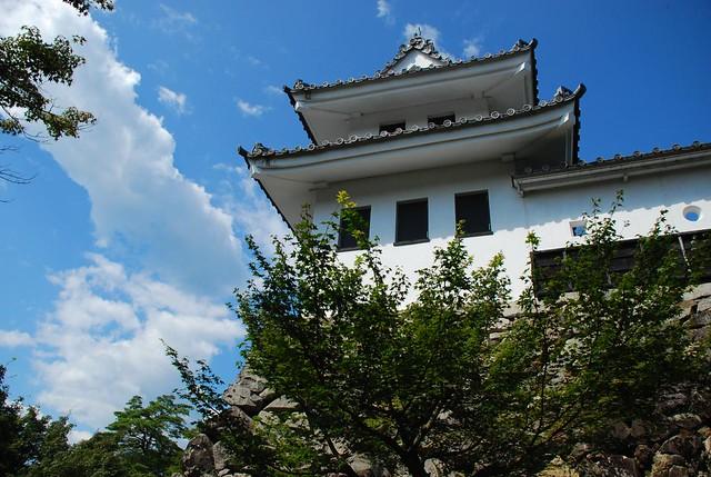 """Yagura"" of Gujo Hachiman-jo castle(郡上八幡城の櫓)"