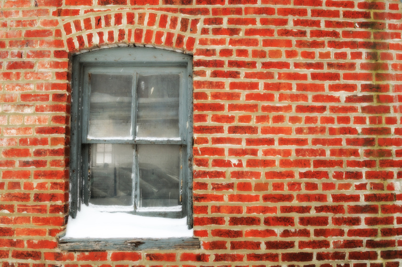 Window in Brick, March