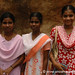 Women at Rock Fort Temple: Trichy, India
