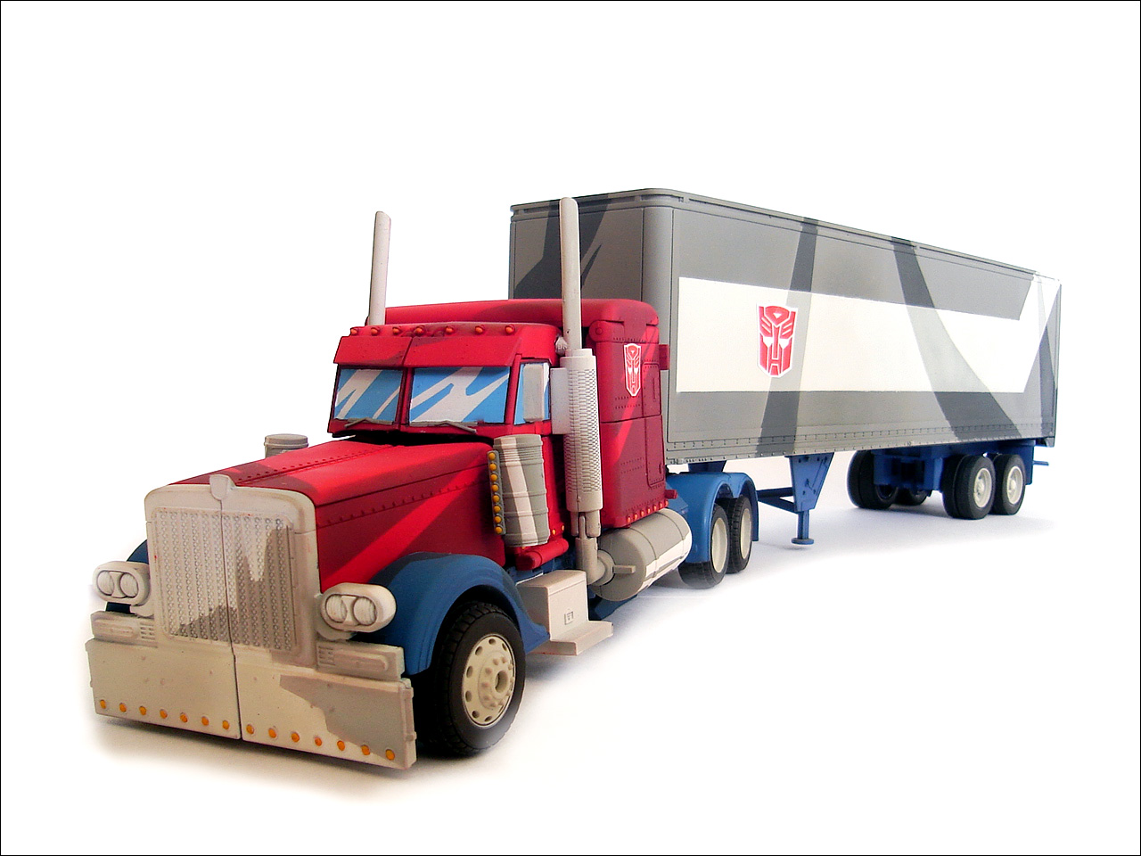 Optimus Prime Truck Coloring Page