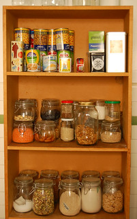 Pantry photo from jules: stone soup at Flickr