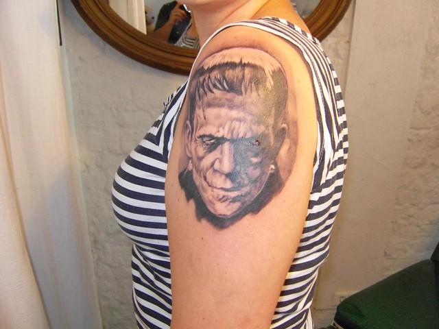 Frankenstein Tattoo DYNAMITE! by Maze / Santa Sangre Cologne
