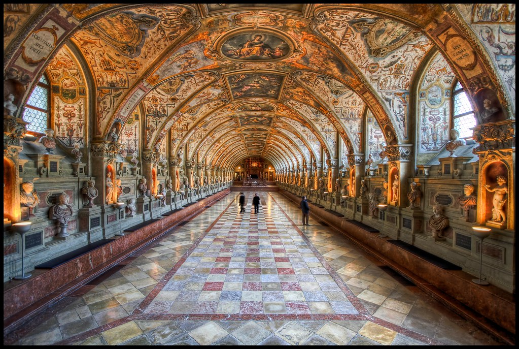 the antiquarium in the munich residenz hdr flickr photo sharing. Black Bedroom Furniture Sets. Home Design Ideas