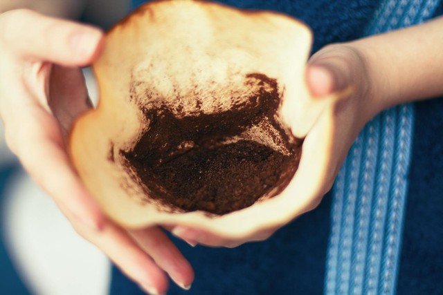Recycling used coffee grounds go green if you put used cof flickr photo sharing - Coffee grounds six practical ways to reuse them ...