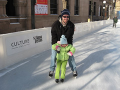 Skating with Dad