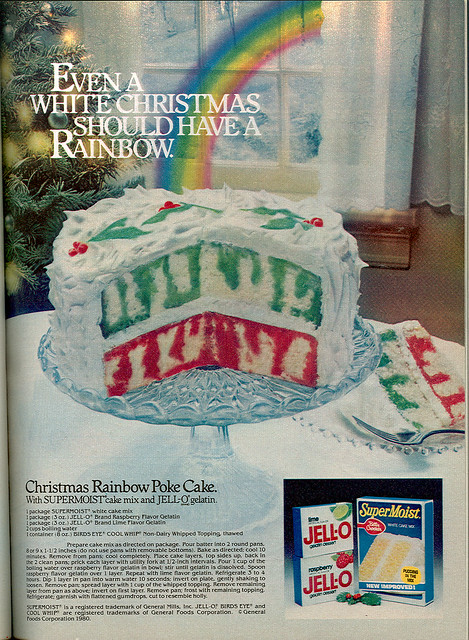 """JELL-O / Betty Crocker Supermoist :: """"EVEN A WHITE ..."""