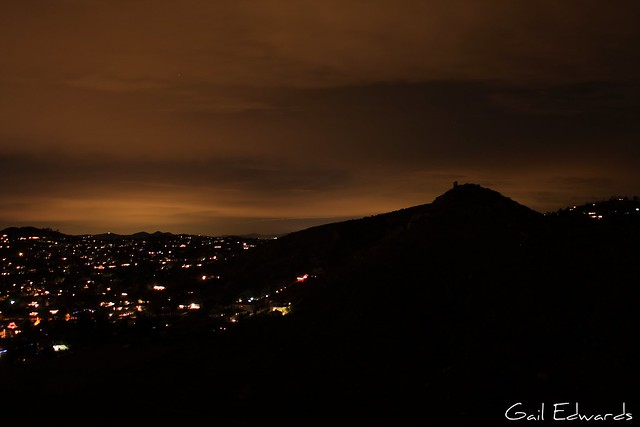Poway at night 2