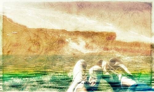 footstaps on earth