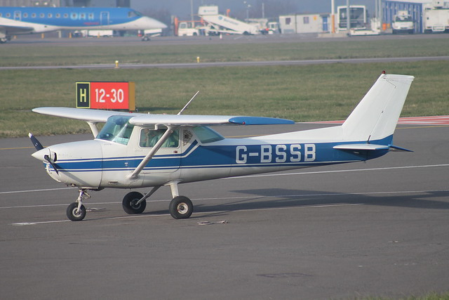 G-BSSB at Cardiff 13/03/14