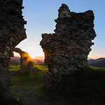 Time travelling - Dinas Bran castle ruins, Llangollen, Wales