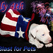 July 4th Fireworks, NO Blast for Pets, Keep them Safe