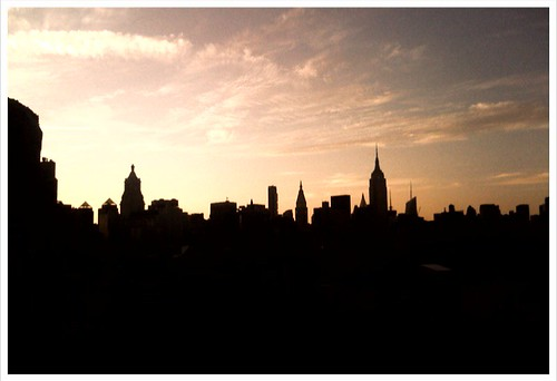 Manhatten Skyline via Williamsburg
