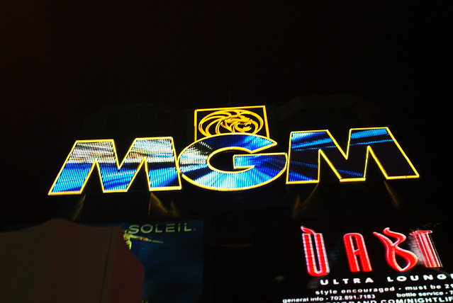 mgm grand sign