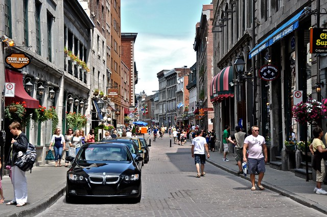 The Streets of Old Montreal