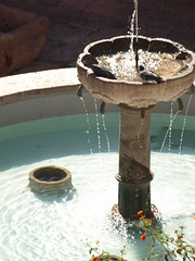 Peru Travel: Santa Catalina fountain, Arequipa