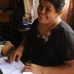 Proud of Her Work - Masaya, Nicaragua