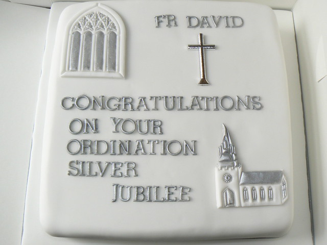 Cake Designs For Silver Jubilee : ordination anniversary cake Flickr - Photo Sharing!