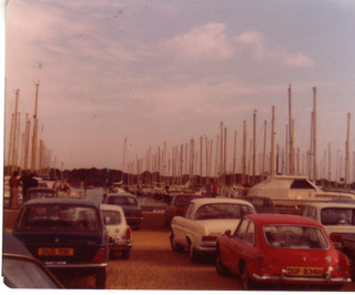 Bosham harbour August 1975 (to be rescanned, this went funny)
