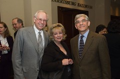 Award Recipient Morris M. Shuster  with his wife and Samuel Milkes