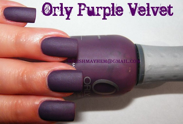 Orly Purple Velvet | Flickr - Photo Sharing!