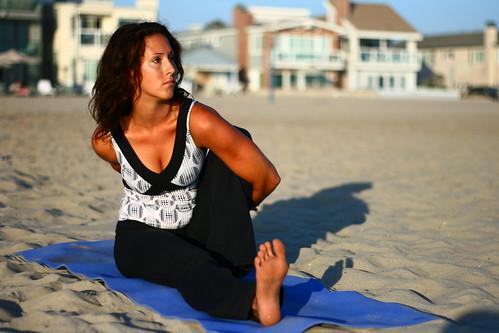 Marichyasana III Yoga Pose