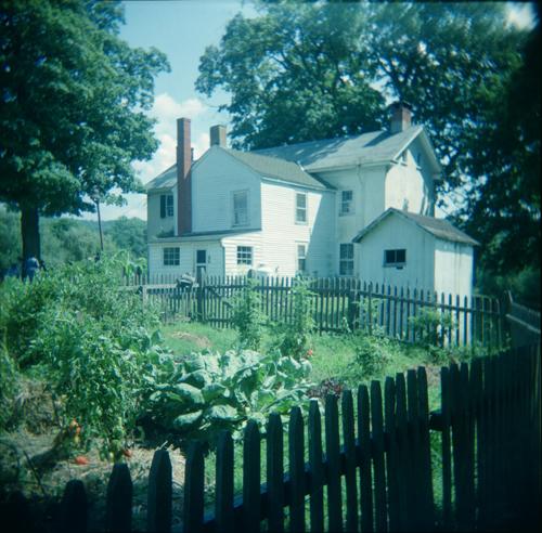 Farmhouse, garden