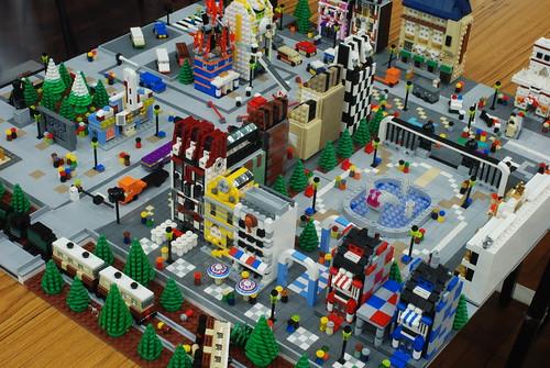 Как построить лего город своими руками 86