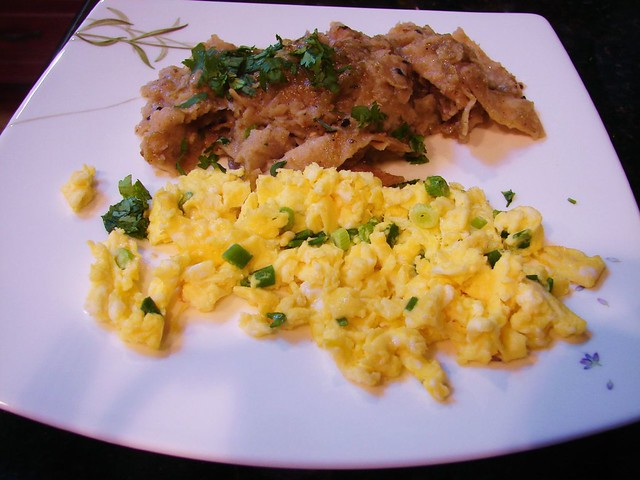 homemade chilaquiles! | Flickr - Photo Sharing!