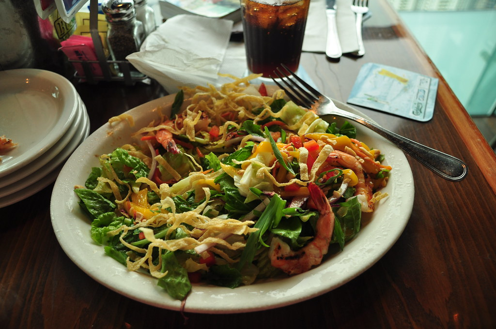 Bubba Gump shrimp salad