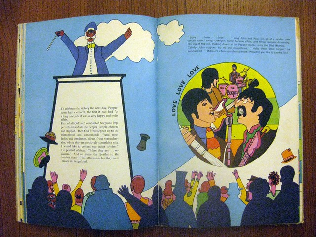 the beatles yellow submarine book spread minoff brodax flickr photo sharing. Black Bedroom Furniture Sets. Home Design Ideas