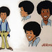 Jermaine  Jackson Model Sheet