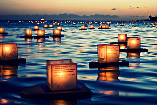 2011 Lantern Floating Ceremony