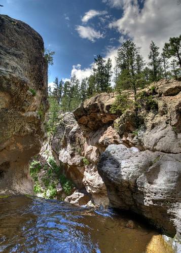 mountains newmexico forest swimming carson cool national nm joeldeluxe hdr jemez jemezfalls jemezriver