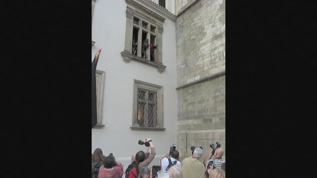 Defenestration Reenactment