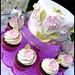 Garden Party Cake and Cupcakes by åsa - hello sugar!