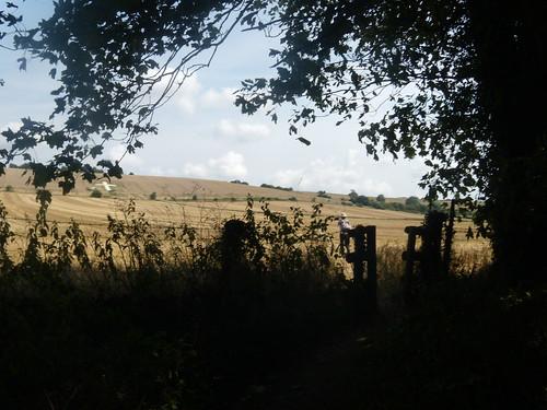 Under Lenham Cross