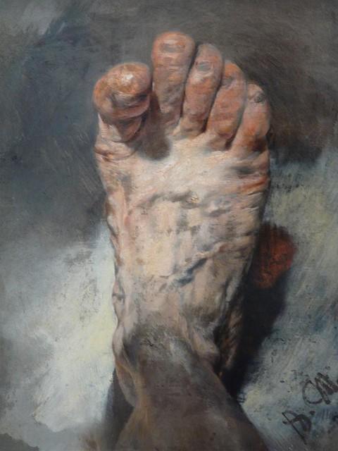 Adolph von menzel voet vd artiest flickr photo sharing for Quadri belli