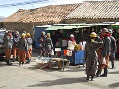 Potosi miners' market