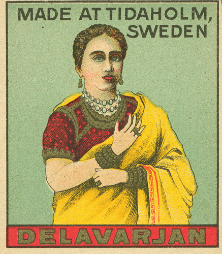 Indian matchbox labels