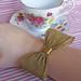 Huge Mesh Bow Bracelet