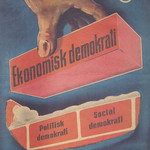 Election poster Social democrats Sweden