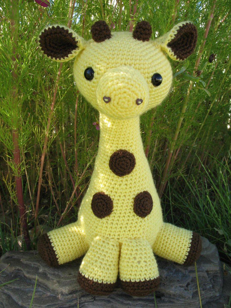 Amigurumi Hello Kitty Abeja : Amigurumi Giraffe - a photo on Flickriver